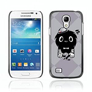 Designer Depo Hard Protection Case for Samsung Galaxy S4 Mini / Cool Tattoo Monster