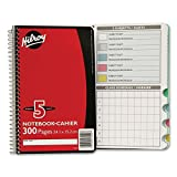 Hilroy Executive Coil Five Subject Notebook 13402