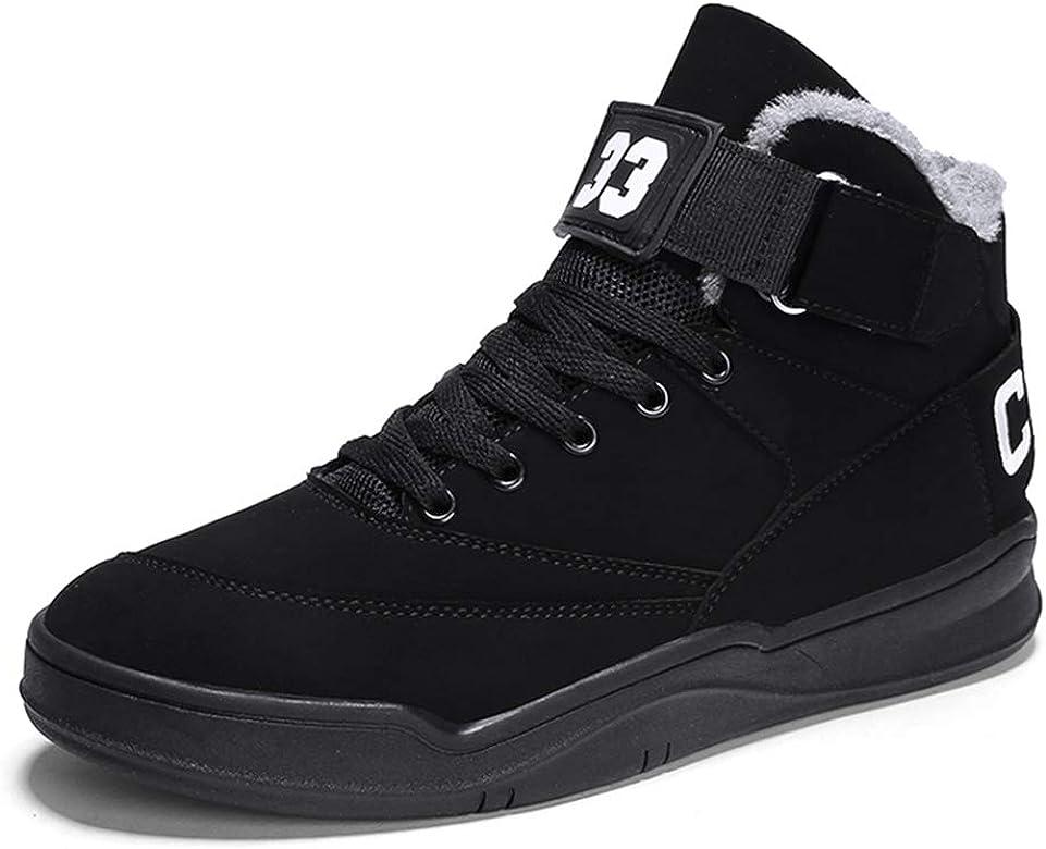 MUOU Zapatos Hombre Sneaker Deportivos Hombres Zapatos Casuales con Cordones Zapatillas Deporte Hombres de Moda (39 EU, Negro-3): Amazon.es: Zapatos y complementos