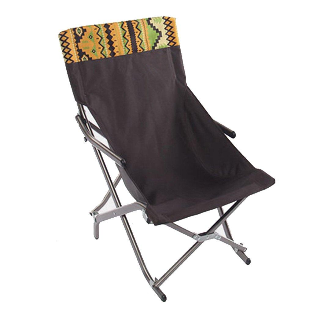 ZGL 旅行椅子 屋外バックライト超軽量釣り椅子レイジー折りたたみチェアポータブルチェアカジュアルダイニングチェアランチラウンジライトの色オプション ( サイズ さいず : S-42*45*70cm ) B07C6W88XG S-42*45*70cm  S-42*45*70cm