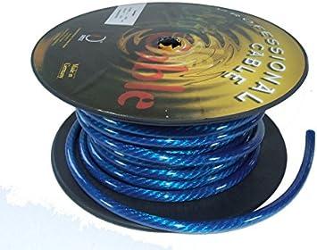 1m Batteriekabel Dietz 10 Mm Blau Meterware Stromkabel Elektronik