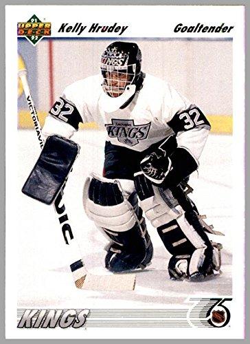 (1991-92 Upper Deck #262 Kelly Hrudey LOS ANGELES KINGS Goalie )