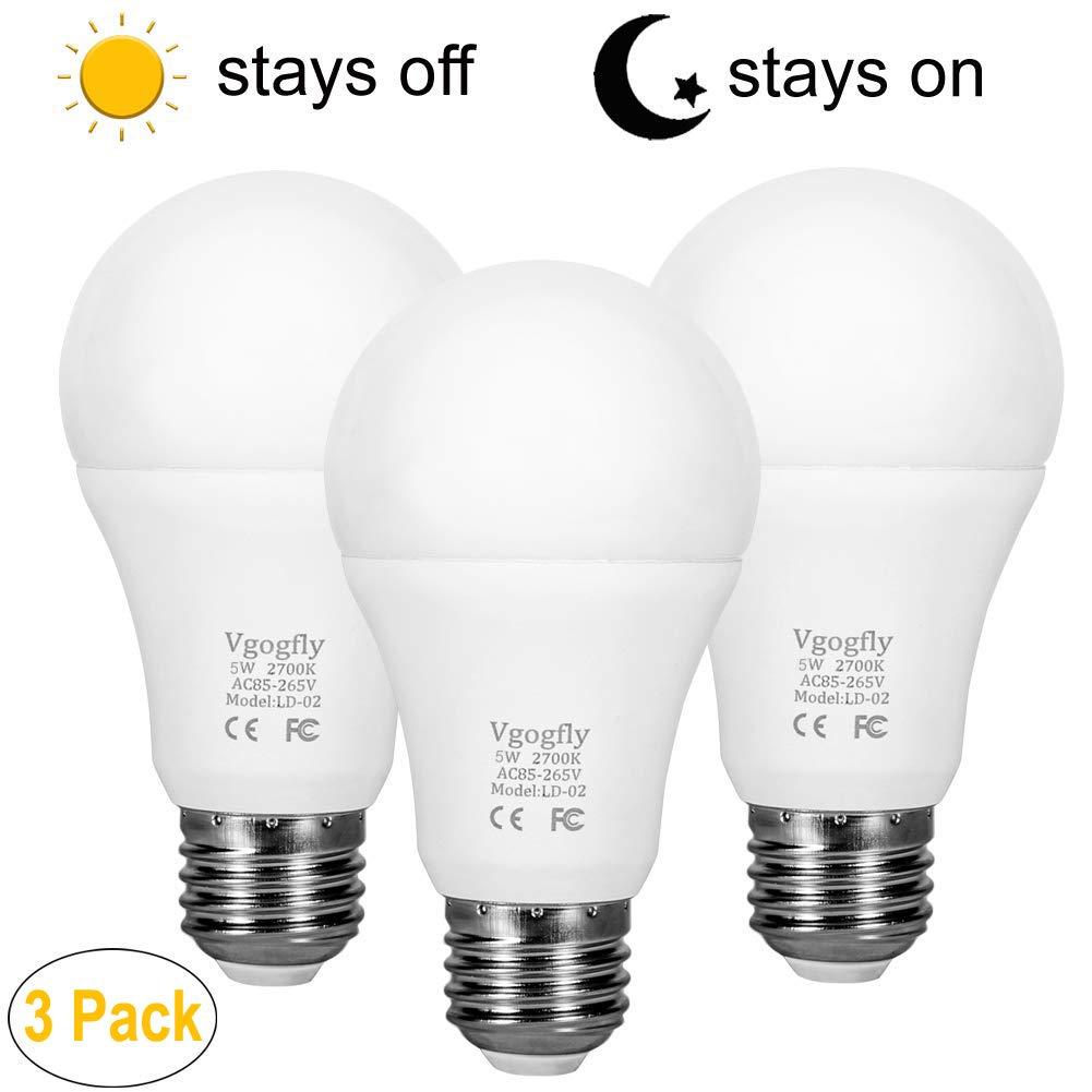 Dusk to Dawn Light Bulb LED Outdoor Light Bulbs Sensing Ligh
