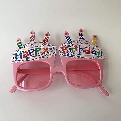 Gafas Fiesta de cumpleaños Gafas de Sol Bola Linda Fiesta de ...