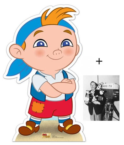 FAN PACK - Cubby (Jake and The Neverland Pirates) Lifesize Cardboard Cutout / Standee - INCLUDES 8X10 (25X20CM) STAR PHOTO - FAN PACK #369 (Jake And The Neverland Pirates Cardboard Cutouts)