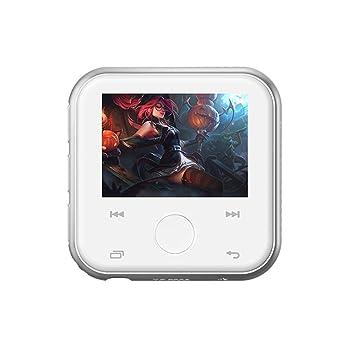 Reproductor de música MP3 portátil WULAU Bluetooth HiFi ...