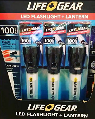 LED FLASHLIGHT + LANTERN (Lifegear Led)