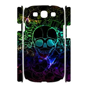 Classic Case Skull pattern design For Samsung Galaxy S3 I9300(3D) Phone Case