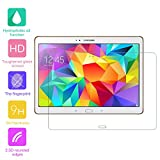 Tempered Glass Screen Protector for Samsung Galaxy Tab S 10.5 inch SM-T800 T805 Tablet - fengus Premium Crystal Clear Film Display Protector Guard Cover with 9H Hardness (1 Pack)