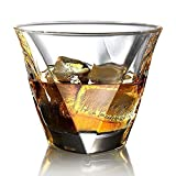 Ecooe Crystal Whiskey Glasses Old Fashioned Whiskey Glass Scotch Whiskey Glasses Set of 2 Whiskey Tumbler Bourbon Glasses Set Glassware Whiskey Drinking Glass Gift Set 300ml Review