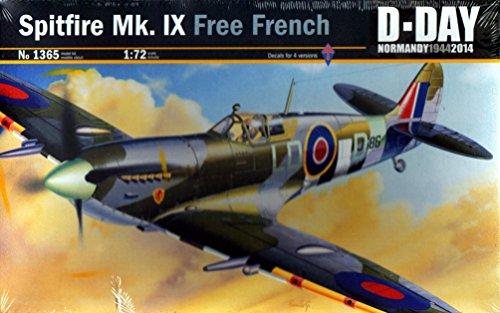 - Italeri 1/72 Spitfire Mk. Ix Free French D-day # 1365