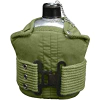 BlackC Sport 1 Quart Aluminum Canteen with Olive Drab Pistol Belt Kit photo