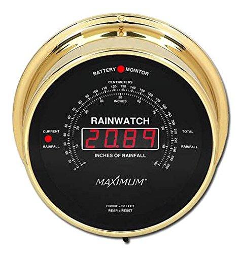 Maximum Rainwatch w Black Dial