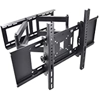 Sunydeal Full Motion Tilt Swivel TV Wall Mount Bracket for Vizio Samsung Sharp Sony LG Panasonic 30 32 39 40 42 43 46 47 48 49 50 55 60 inch Plasma LCD LED Smart TV, VESA up to 600 x 400 mm, Max 99lbs