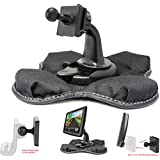 ChargerCity Portable Dashboard Friction Mount for TOMTOM VIA 1405 1435 1505 1535 1605 GO 40 50 60 500 600 5000 6000 S START 20 55M 60 LIVE EASYPORT GPS