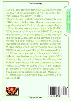Preguntas & Respuestas de la TORAH y Raices Hebreas TOMO I: YAHWEH Y