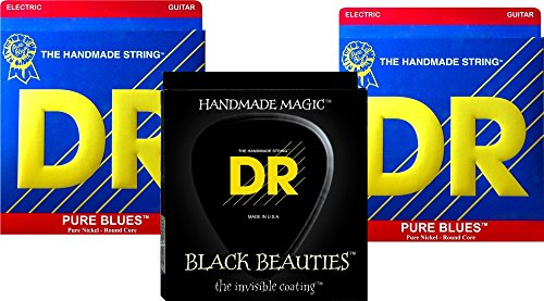 DR Strings Pure Beauties Pure Blues Electric Guitar Strings