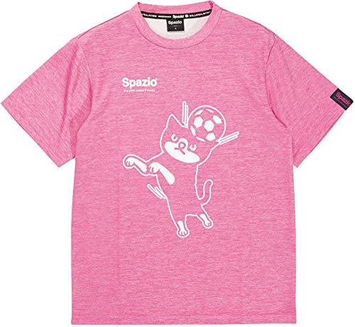 キャメル何ツール◎SPAZIO(スパッツィオ) Jr.ピッポ君プラTシャツ フットサル GE0494-177 ジュニア ボーイズ