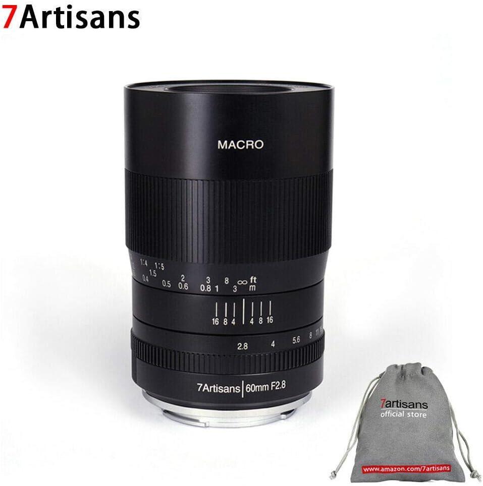 7artisans Objektiv 60 Mm F2 8 Makro Aps C Manueller Kamera