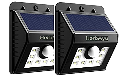Amazon.com: herbayu 8 Super Bright LED luz Solar ...