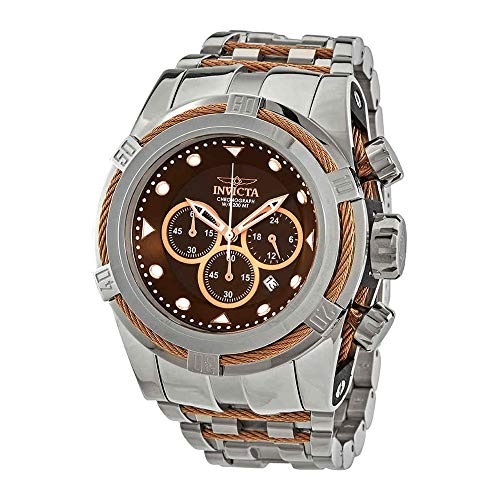invicta watches brown dial - 2