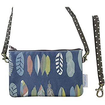 Amazon.com: Tainada Phone Wallet Purse 3-Layers Wristlet