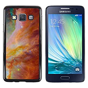 Transformación triunfante de los Cielos - Metal de aluminio y de plástico duro Caja del teléfono - Negro - Samsung Galaxy A3