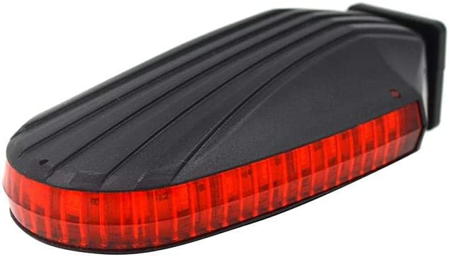 Broadroot Luz Trasera para Bicicleta,Taillight LED Indicador de ...
