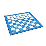 Victory Tailgate Citadel Military College Bulldogs 2-in-1 Giant Checkers & All Weather Mat