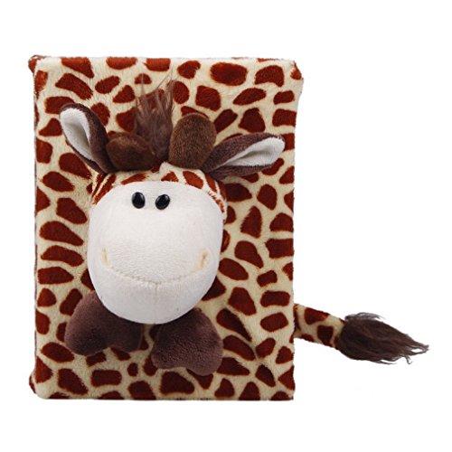 JTC Animal Cartoon Plush Photo Album Photo Cover Album Frame 4x6 6 Styles (Giraffe) by Jtc (Image #3)