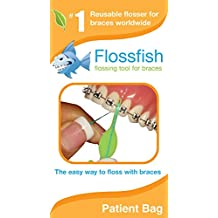 FlossFish - Reusable Orthodontic flossers 5 Mixed Colors