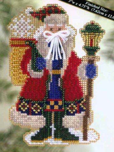 Snow Drift Santa - Cross Stitch Kit ()
