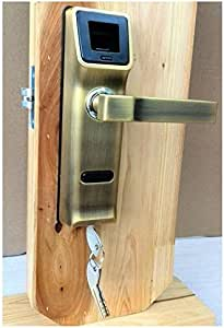 Cerraduras electrónicas de la manija con cerradura biométrica de ...