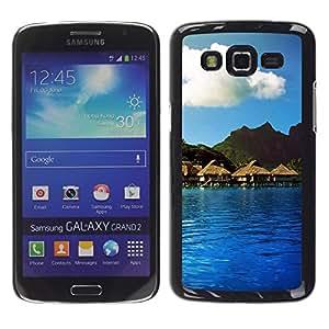 Paccase / SLIM PC / Aliminium Casa Carcasa Funda Case Cover - Nature Beautiful Forrest Green 114 - Samsung Galaxy Grand 2 SM-G7102 SM-G7105
