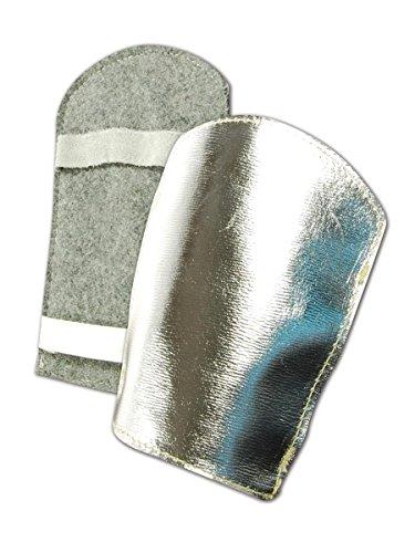 Magid Glove & Safety 75WA-1-LE 75WA1LE Aluminized Leather High-Heat Hand Pads, Size 11