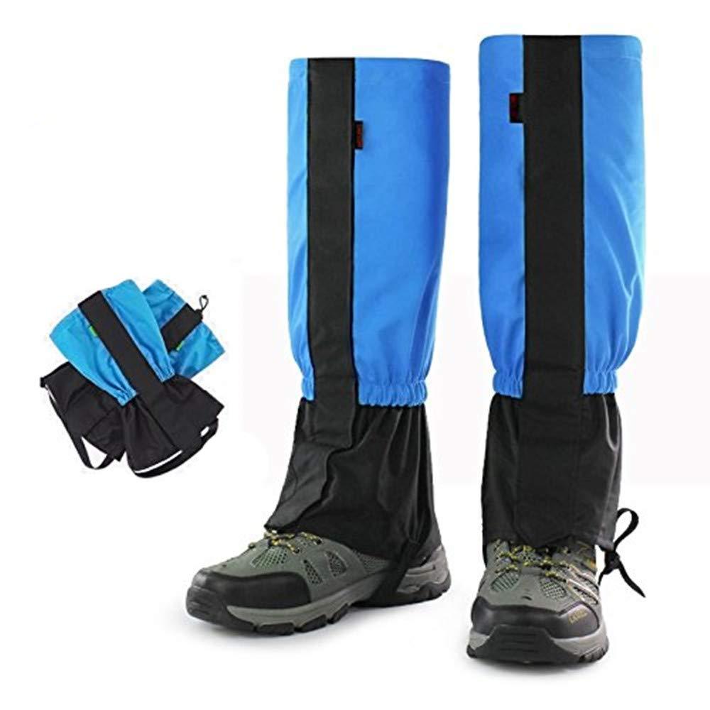 CHUER Polainas Impermeable a Prueba de Viento Nieve Guardia protecci/ón para Las piernas monta/ña Senderismo esqu/í Actividades al Aire Libre 1 Par
