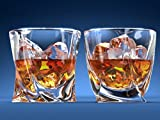 Ashcroft Twist Whiskey Glass, Set Of 2