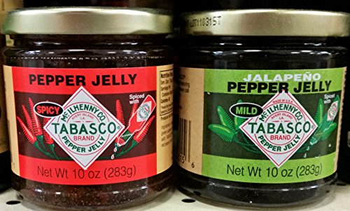 (Tabasco Pepper Jelly Variety Pack 10 oz (Pack of 2))