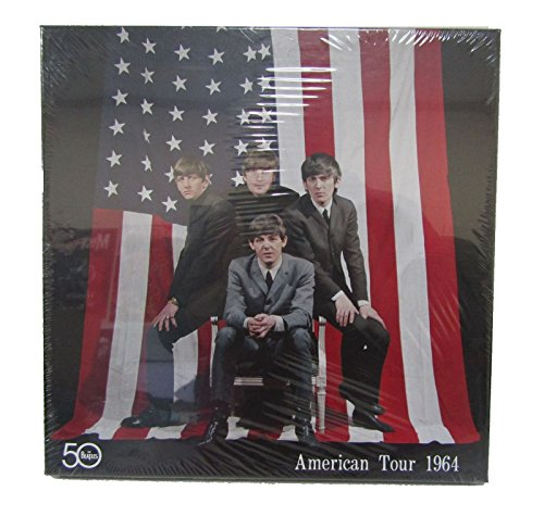 The Beatles 50 American Tour 1964 Buttons Tickets Tour Books Collectible Box Set