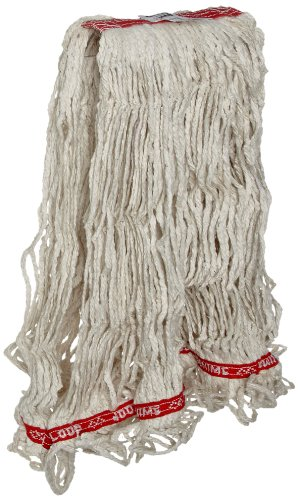 Rubbermaid Commercial Products Swinger Loop Mop, Large, 1-inch Headband, White (FGC11306WH00) by Rubbermaid Commercial Products (Image #1)