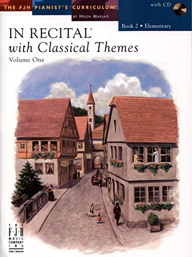 FJH1698 - In Recital with Classical Themes - Volume One - Book 2