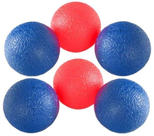 Trac Trackball - Liberty Imports Trackball Sport Chuck and Catch Ball Lacrosse Racket Toy Game (Replacement Balls)