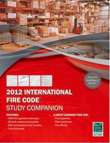 2012 International Fire Code Study Companion -  Paperback
