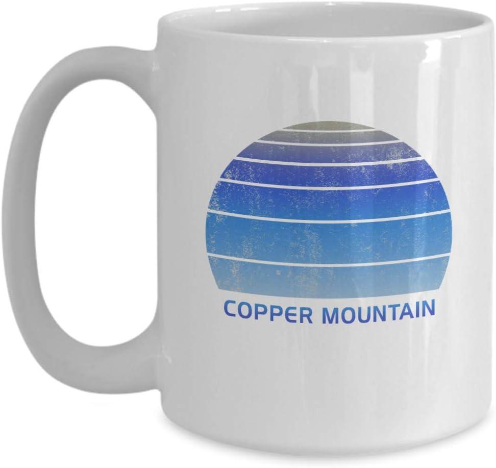 Vintage Copper Mountain Colorado Copy White 15oz Coffee Mug Souvenir Tea Cup Kitchen Dining