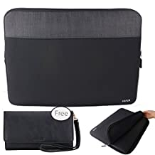 Conze 13inch Tablet Sleeve Water-resistant Protective Case Pouch Cover/Briefcase Carrying Bag Compatible with ASUS ZenBook UX310UA / UX330UA / Flip UX360UA / 3 UX390UA in Black