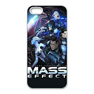 Mass Effect For iPhone 5, 5S Case Cell phone Case Duqt Plastic Durable Cover