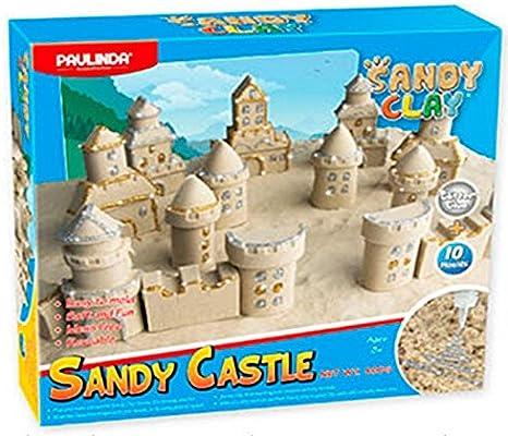 Dimasa Castle Sandy Clay con Brillo Bicicletas y monopatines para Dedos DIM14007