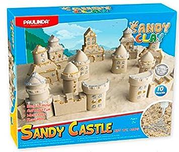 sany clay sandy castle Arena moldeable con glitter