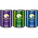 Wellness Complete Health Natural Wet Canned Dog Food, Best Sellers Variety Pack, 12.5-Ounce Can (Pack Of 18)