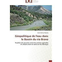 Géopolitique de l'eau dans le Bassin du rio Bravo: Rivalités de pouvoirs entre les centres agricoles et urbains dans le nord-est du Mexique